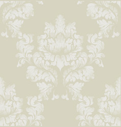 Damask pattern texture royal fabric vector
