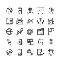 Digital Marketing Icons 1 vector