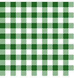 Green lumberjack seamless pattern vector
