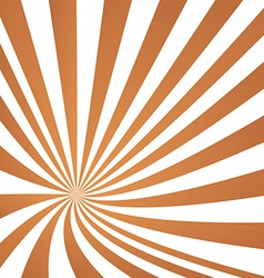 Light brown converging ray design vector