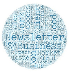 Most Newsletters Don t Work part one Success and vector image