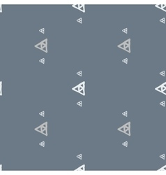 seamless pattern of colored triangles drawn vector image