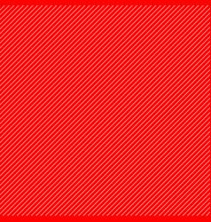 Thin white diagonal stripes on red vector