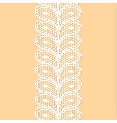White lacy border vector