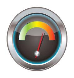 internet or web download icon vector image vector image
