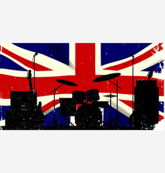 uk rock band vector image