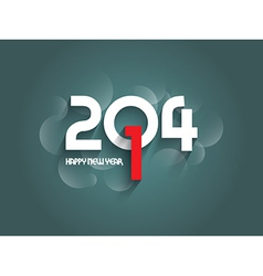 Decorative text background for the New Year vector image vector image