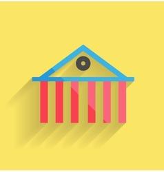 House icon modern flat design vector image