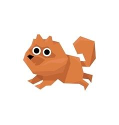 Pomeranian spitz dog vector