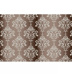 Baroque ornament pattern vector image