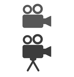 cinema icon on white background vector image