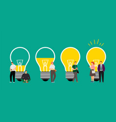 Idea development vector