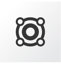 loudspeaker icon symbol premium quality isolated vector image