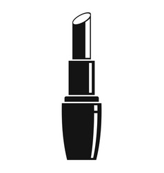 Sexy lipstick icon simple style vector