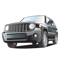 jeep vector image vector image