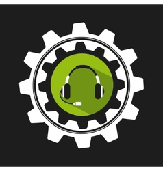 support icon vector image vector image
