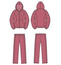 Sport suit vector image vector image
