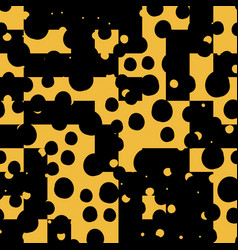 Asymmetrical seamless art camouflage design vector
