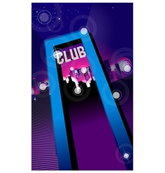 Club entrance vector image