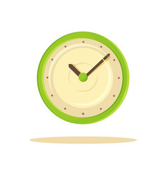 color clock template banner vector image