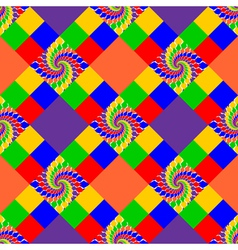 Design seamless multicolor abstract pattern vector