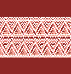 Geometry triangle pattern vector