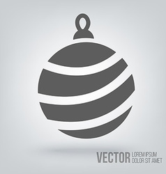 icon Christmas toys vector image