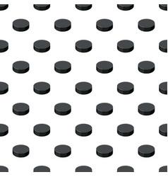 Puck pattern seamless vector