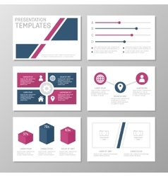 Set of template for multipurpose presentation vector