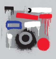 stencil tools vector image