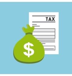 Tax concept design vector