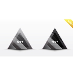 triangle business design element vector image