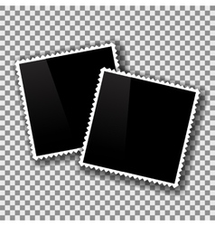Two Photo Frames vector