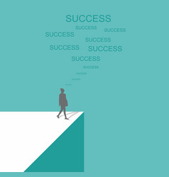 women business success vector image