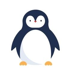 Cute penguin icon vector image vector image