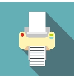 Fax icon flat style vector image