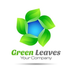 Leaf Logo design Template for your business vector image