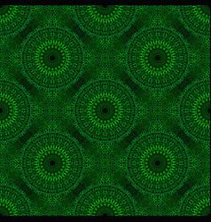 Bohemian geometrical seamless mandala flower vector