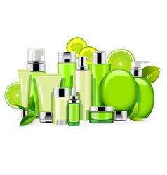 energy cosmetics vector image