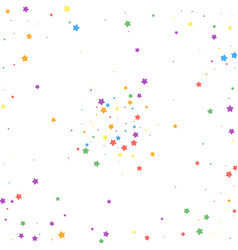 Festive confetti celebration stars joyous stars vector