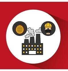 Industrial work design vector