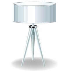 Modern lamp vector image