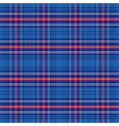 seamless pattern Scottish tartan Army vector image