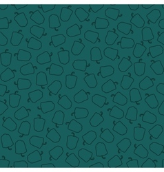 Abstract seamless pattern of peppers vector image