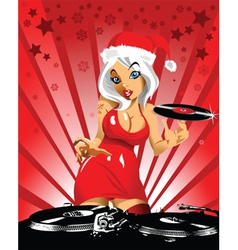new year music at midnight vector image vector image