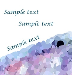 Mosaic background3 vector image