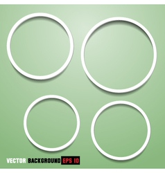 Abstract circles for web design vector image