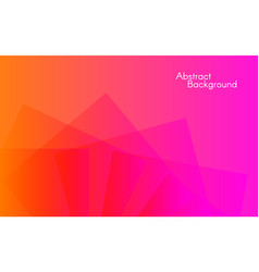 abstract color background minimal design vector image