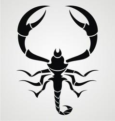 Black Scorpions vector image