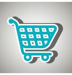 cart shopping icon design vector image